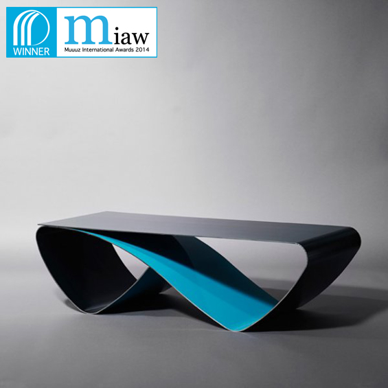table basse infini acier cocosteel miaw 2014